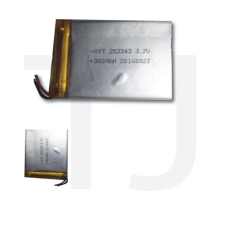 3.7v Polymer Battery 360 mAh