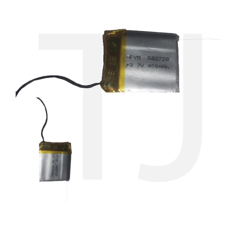 3.7v Polymer Battery 400 mAh