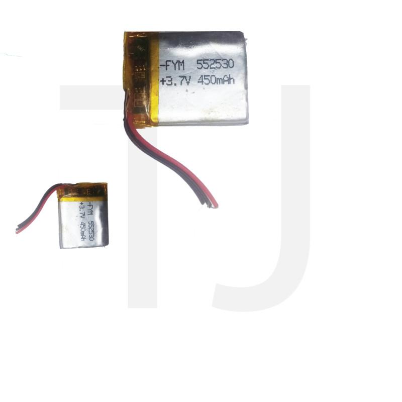 3.7v Polymer Battery 450 mAh