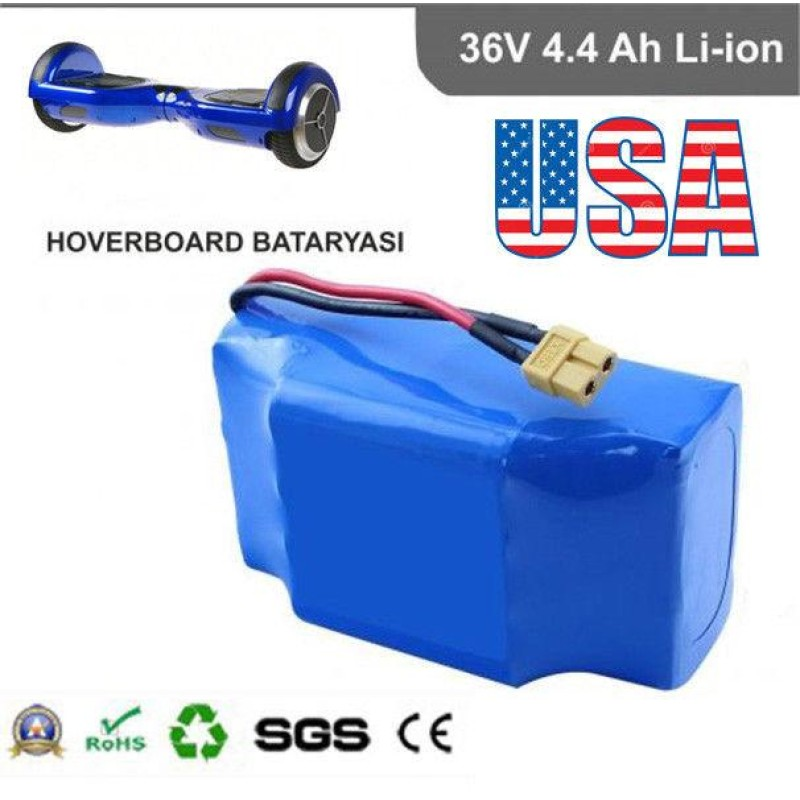 36V 4.4A Li-Ion Battery for Hover Board Balance Scooter wheels