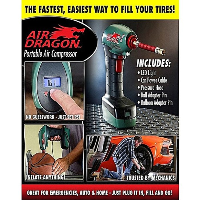 Air Dragon Portable Air Compressor