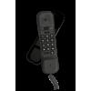 Alcatel Black Ultra Compact Corded Landline Phone, T06 EX