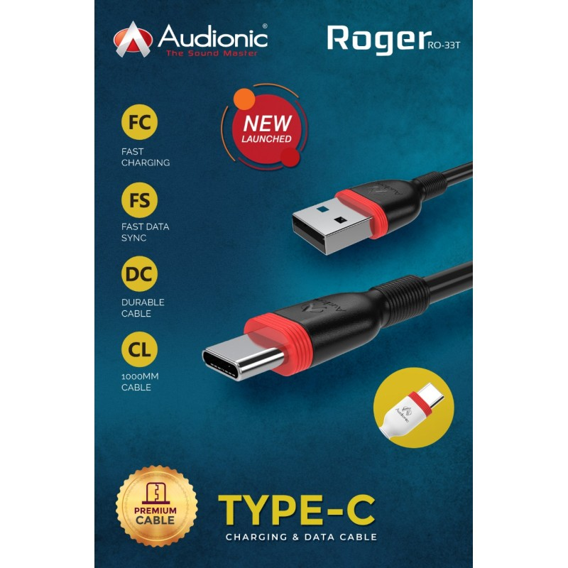 Audionic Roger TYPE–C CABLE