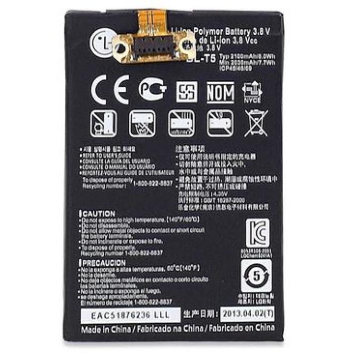 BL-T5 – Battery For Google Nexus 4 E960 / Optimus G E970 / Optimus G LS970 – 2100mAh – Black