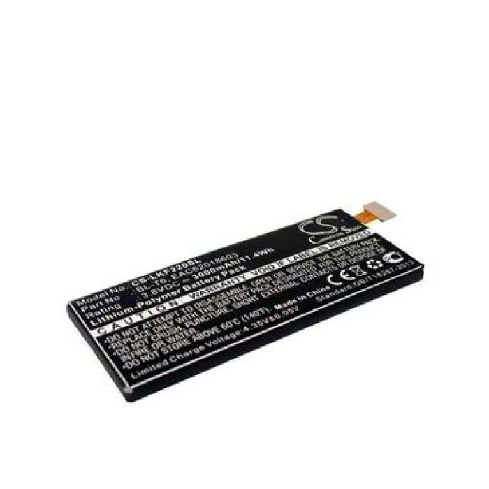 BL-T6 – Battery For LG F220K, Optimus GK, EAC62018603, F220, F220L, F220S – 3000mAh – Black