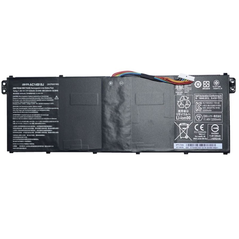 Battery For Acer AC14B18J Aspire E3-111 And E5-771