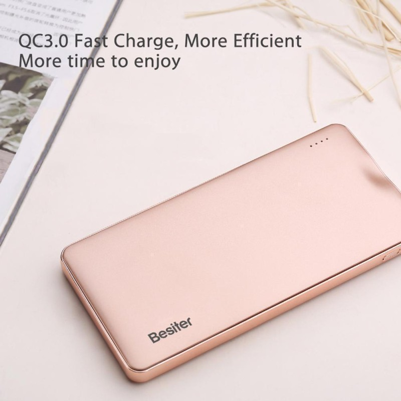 Besiter 10000mAh Qualcomm Fast Charging Power Bank