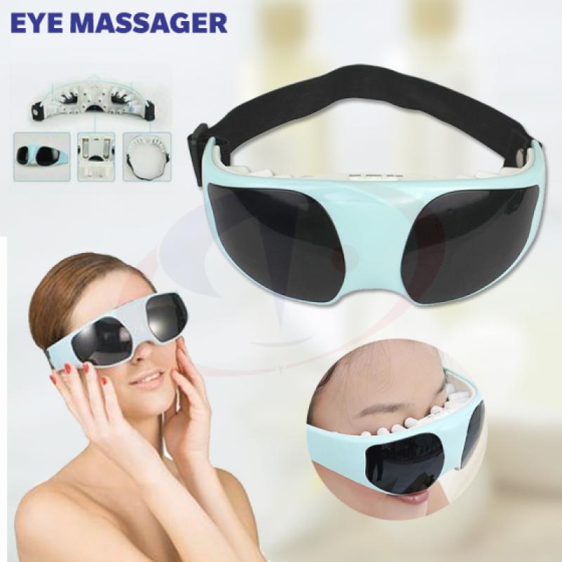 Blueidea Eye Massager Vibration Relax Relief Massager Eliminates Eyestrain