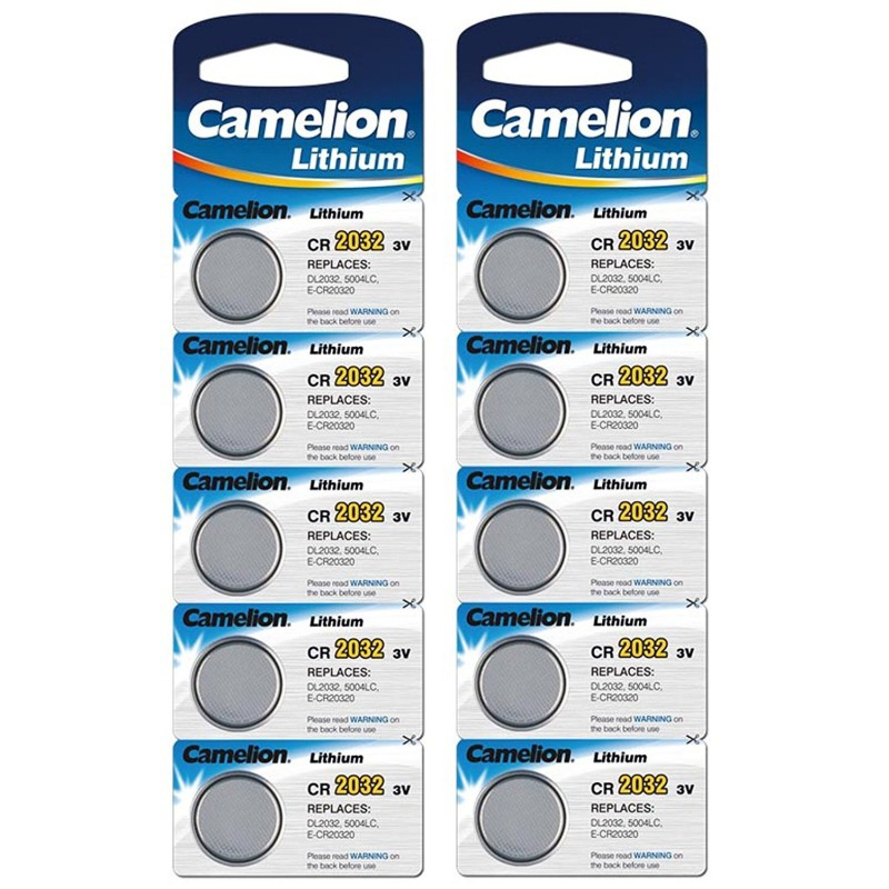 Camelion 3V Lithium Battery CR2032 (Pack of 5)