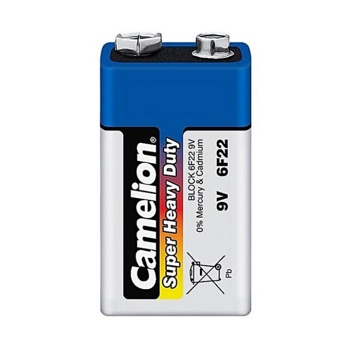 Camelion 9V Super Heavy Duty Battery