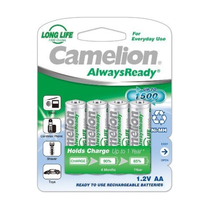Camelion AA 1000mAh Rechargeable Battery (Pack of 4)