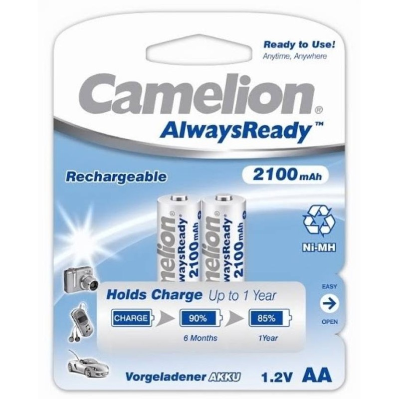 Camelion AA 2100mAh Rechargeable Battery (Pack of 2)