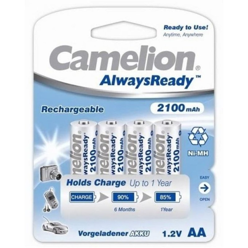 Camelion AA 2100mAh Rechargeable Battery (Pack of 4)