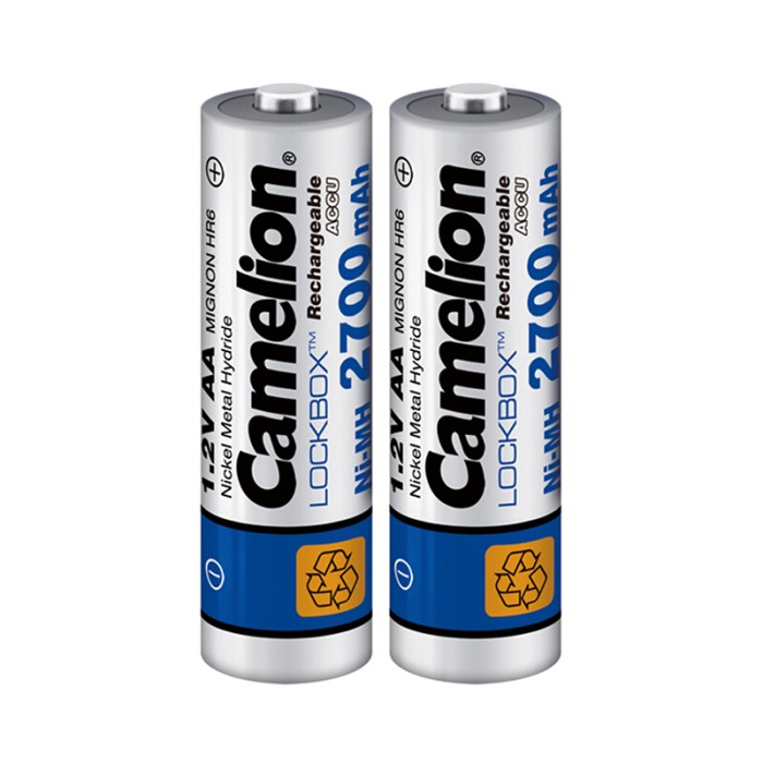 Camelion AA 2700mAh Rechargeable Battery (Pack of 2)
