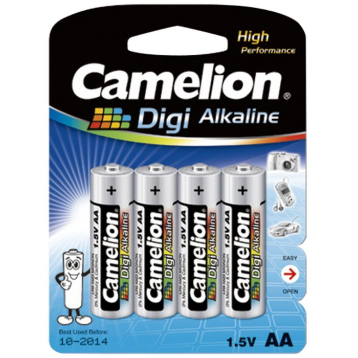 Camelion AA Digi Alkaline Battery (Pack of 4)