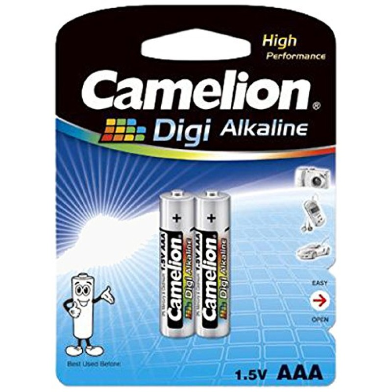 Camelion AAA Digi Alkaline Battery (Pack of 2)