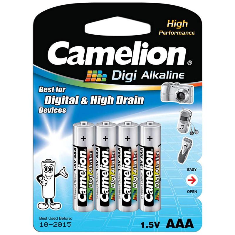 Camelion AAA Digi Alkaline Battery (Pack of 4)