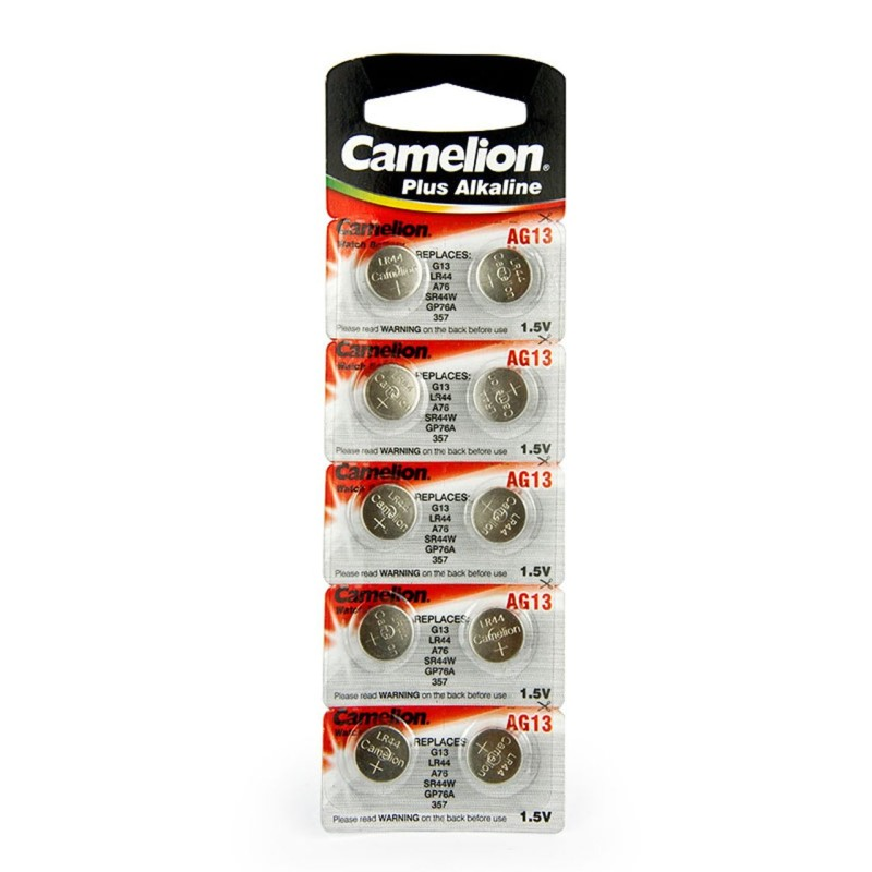 Camelion Button Remote Cell LR44 (Pack of 10)