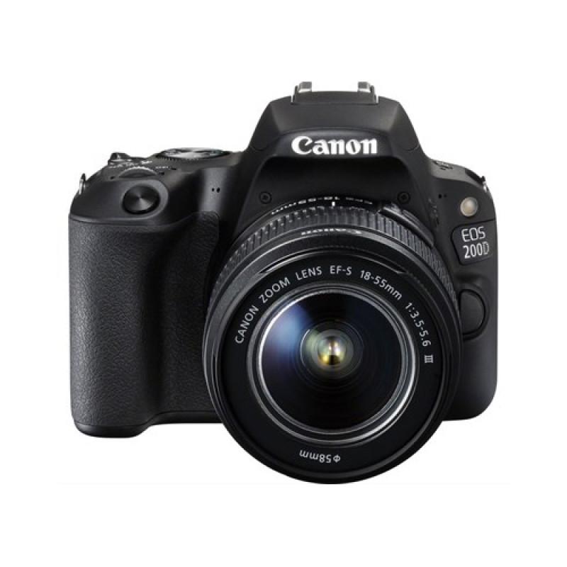 Canon EOS 200D Kit (EF-S 18-55 mm f3.5-5.6 III Lens)