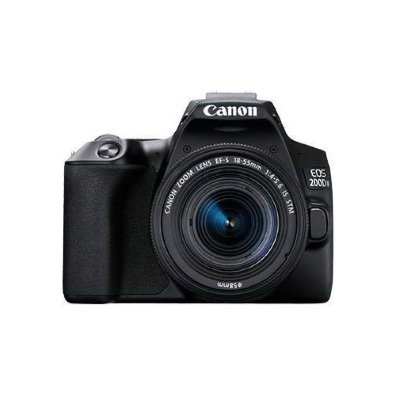 Canon EOS 200D Mark II with 18-55mm IS STM Lens Kit