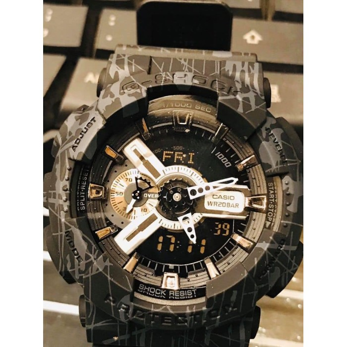 Casio G-Shock Men's Military GA-110 Original