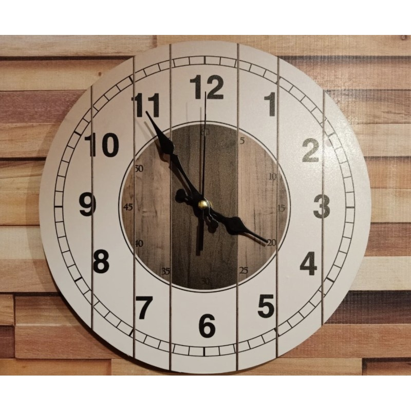 Colorful Wooden Wall Clock TJ-01
