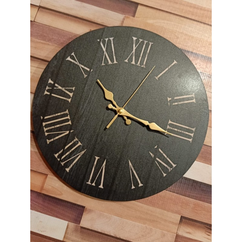 Colorful Wooden Wall Clock TJ-04