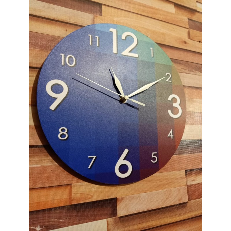 Colorful Wooden Wall Clock TJ-05