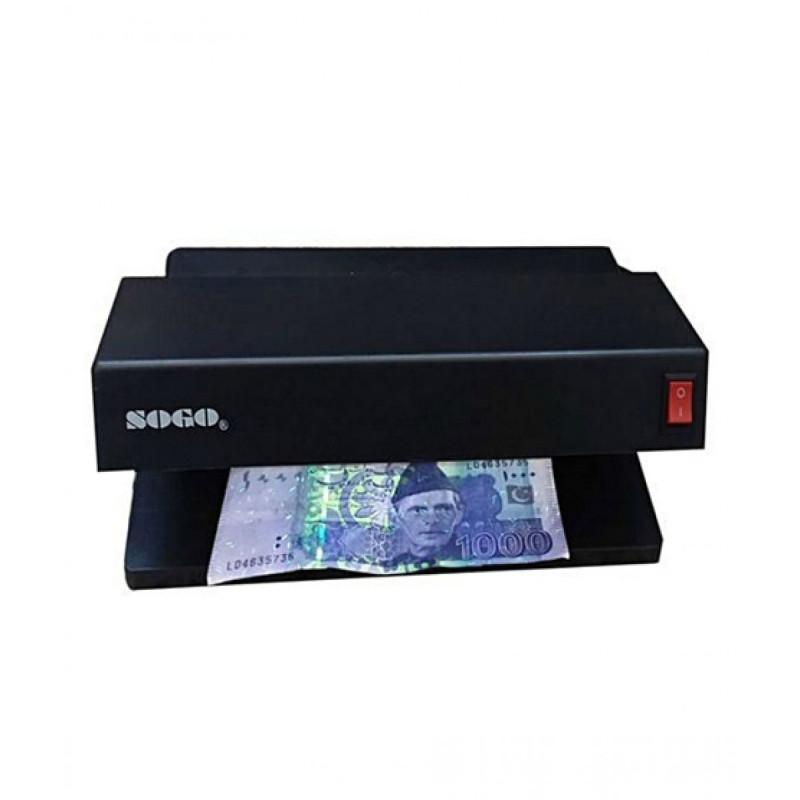 Currency Checker Electric Machine Note Checker - Black
