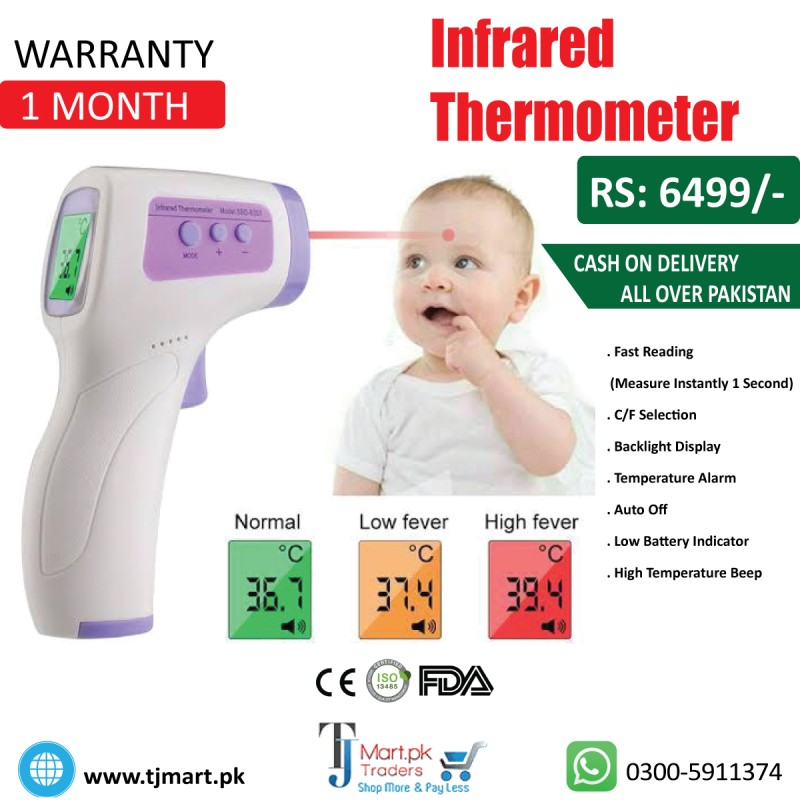 Digital Infrared Thermometer,Non-contact IR Infrared Thermometer