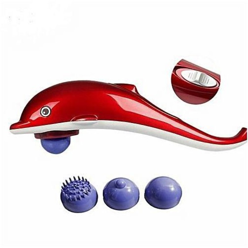 Dolphin Infrared Massager - Red