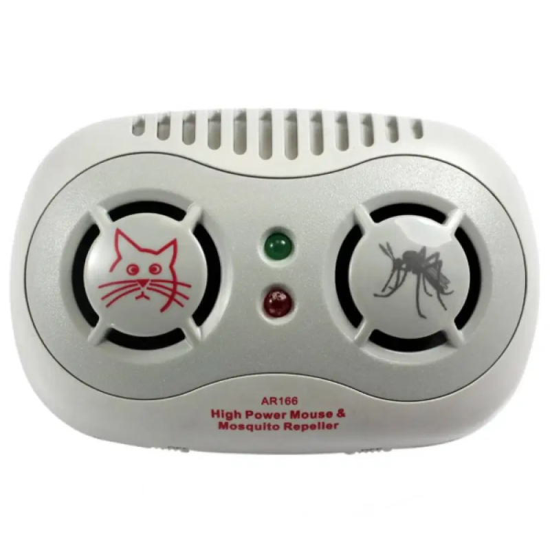 Dual Ultrasonic Mouse & Mosquito Repellent