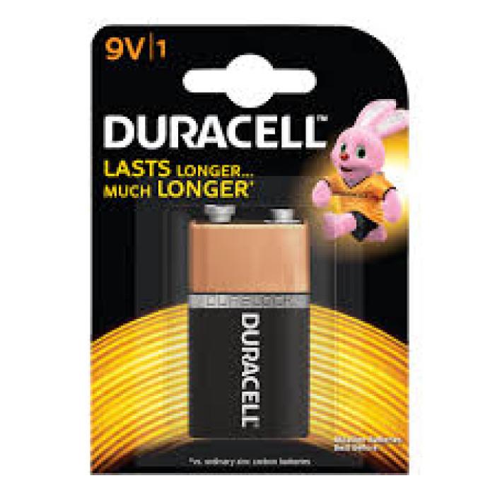 Duracell 9V Alkaline Battery