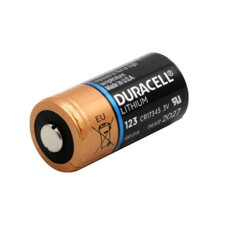 Duracell CR123A 3V Lithium Battery