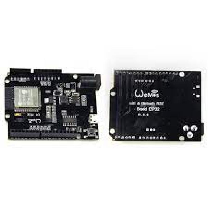 ESP32 WiFi+Bluetooth+UNO WeMos