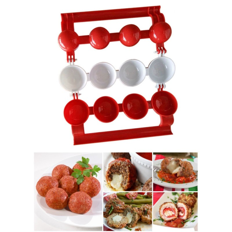 Easy Stuffed Meatball Maker