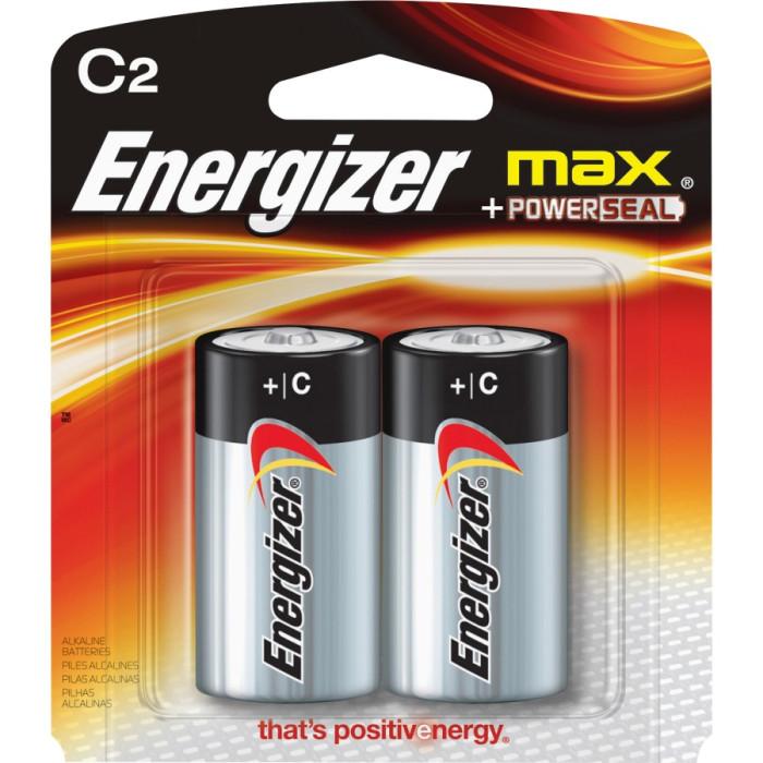 Energizer C-Size Alkaline Batteries