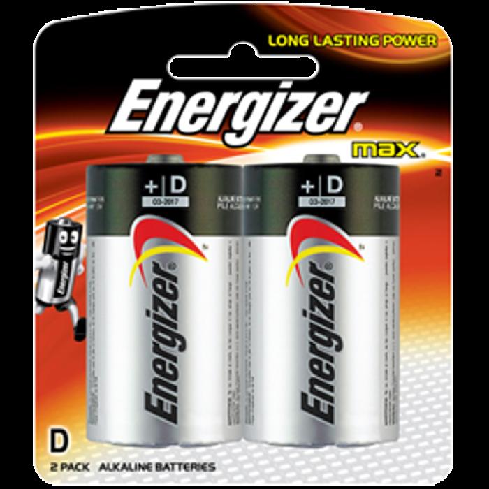 Energizer D-Size Alkaline Batteries