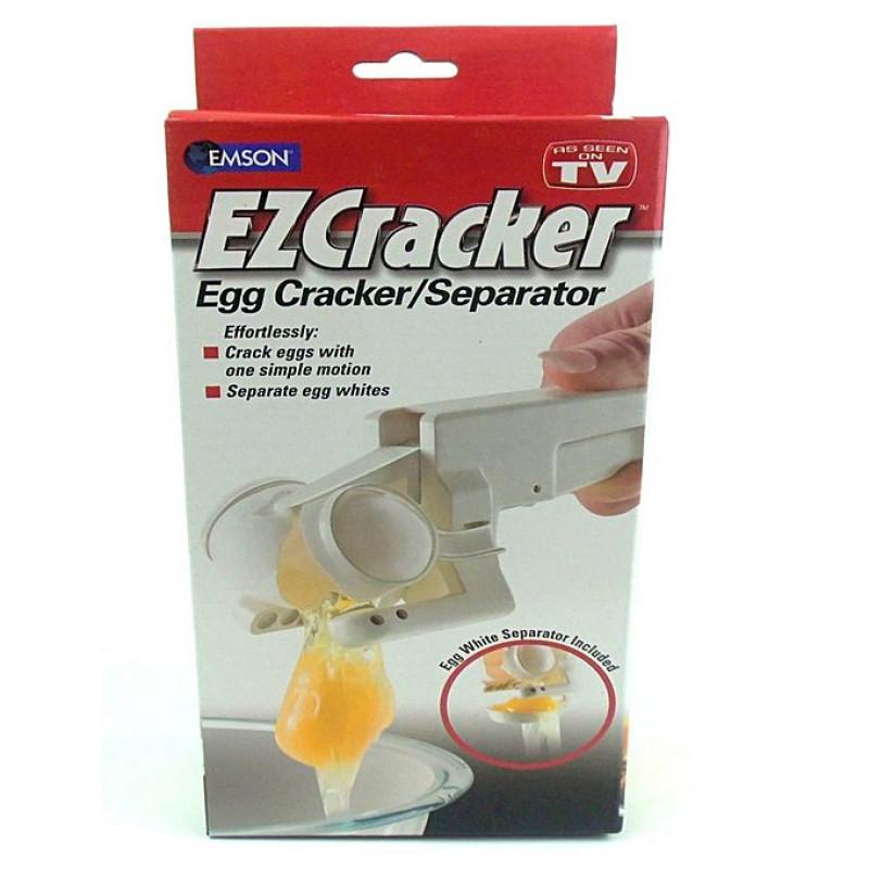 Ez Cracker Egg Cracker With Separator