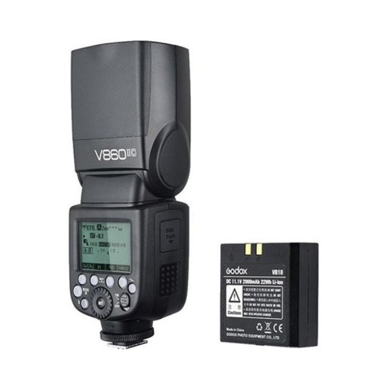 Godox VING V860II C TTL Li-Ion Flash Kit for Canon Cameras