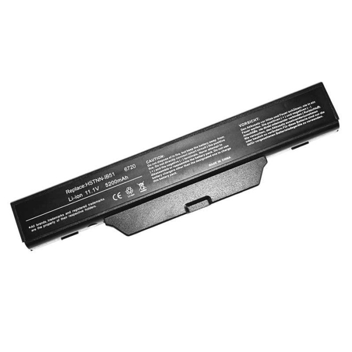 HP 6720s 6 Cell Laptop Battery