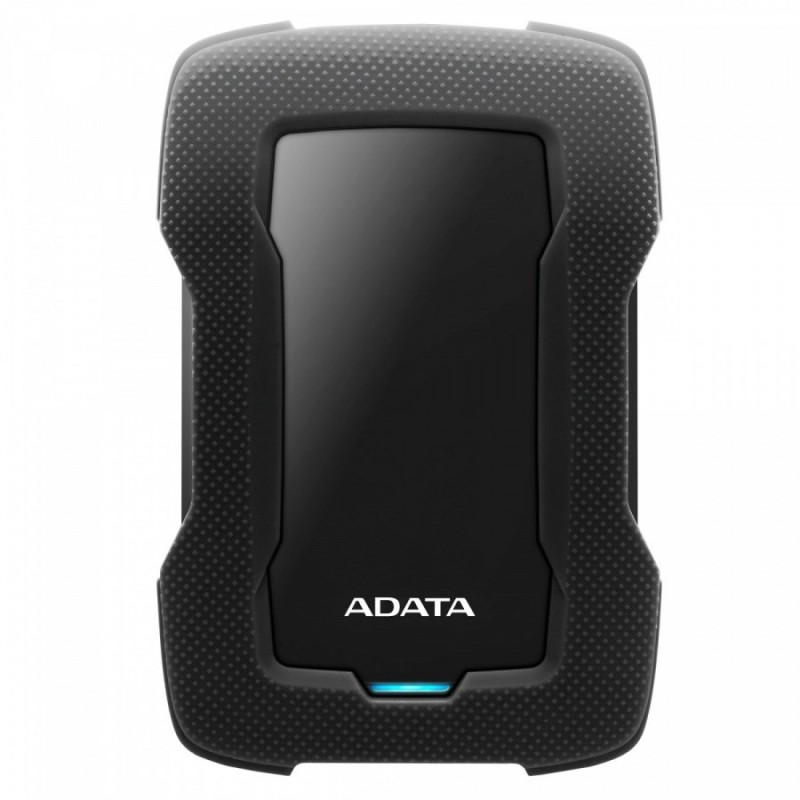 ADATA HD330 2TB AHD330-2TU31-CBK USB 3.1 Shock-Resistant Extra Slim External Hard Drive - Black