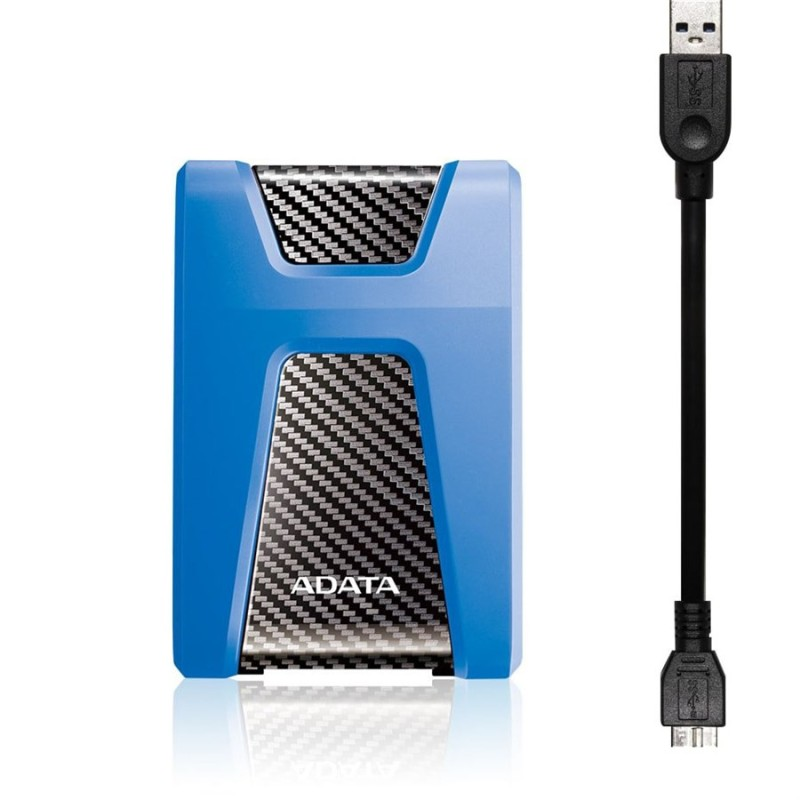 ADATA HD650 1TB Blue External Hard Drive AHD650-1TU31-CBL