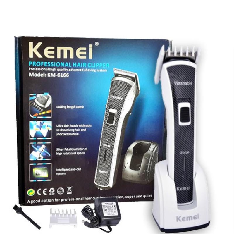 Kemei KM-6166 Waterproof Rechargeable Trimmer