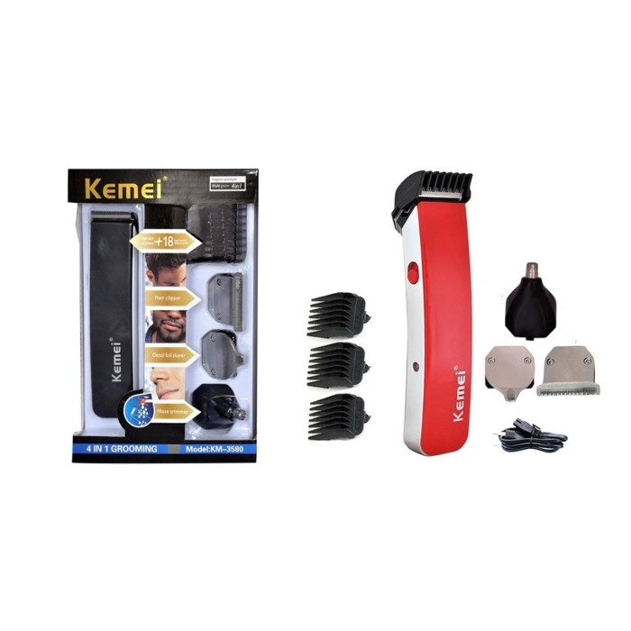 Kemei Electric Shaver & Trimmer KM-3580