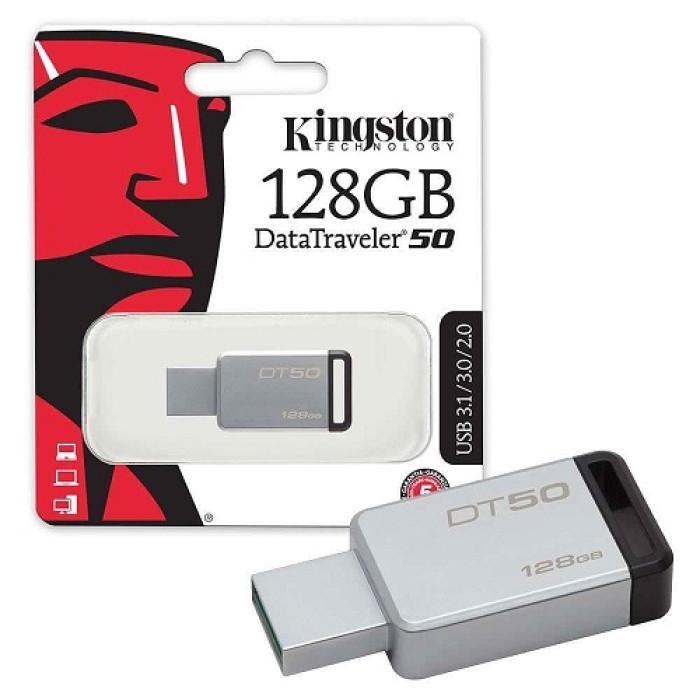 Kingston 128GB Data Traveler 50 3.0 USB Flash Drive