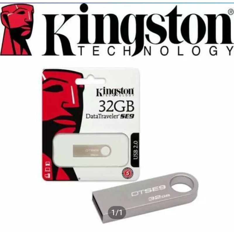 Kingston 32GB 2.0 USB Flash Pen Drive