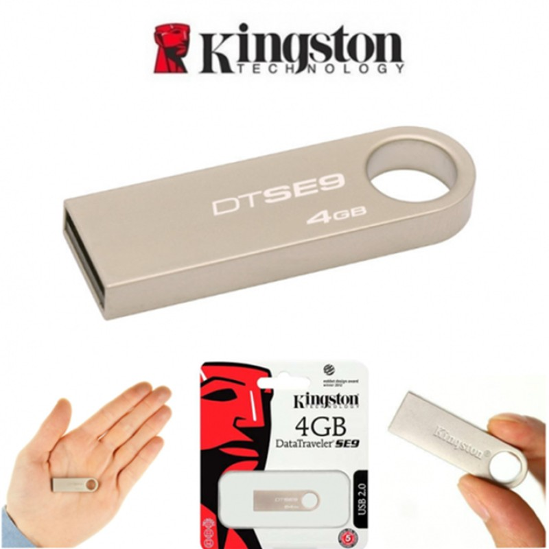 Kingston 4GB 2.0 USB Flash Pen Drive