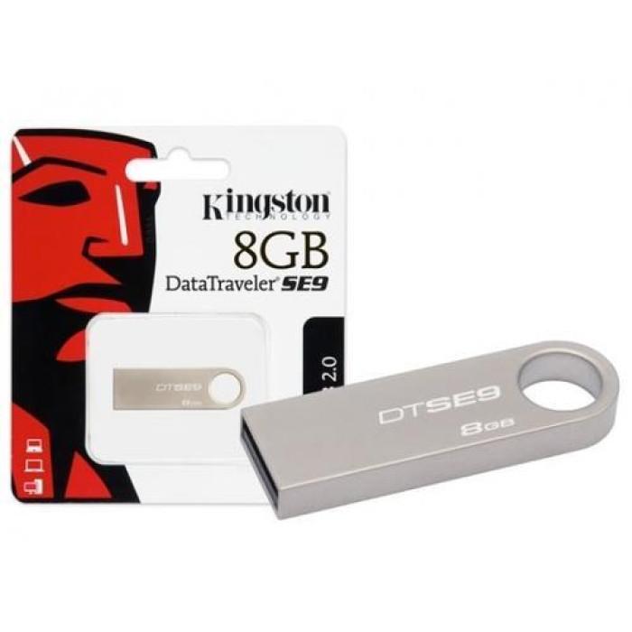 Kingston 8GB 2.0 USB Flash Pen Drive