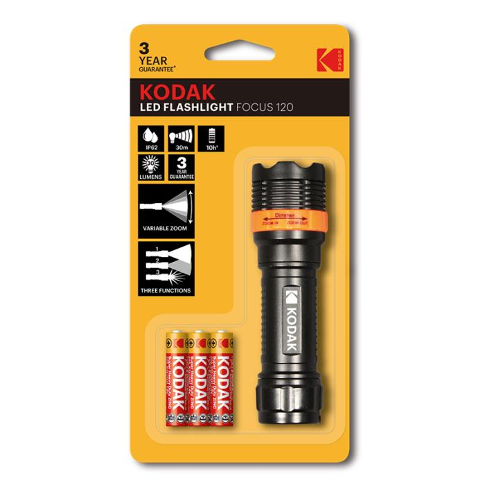 Kodak LED Flashlight Focus 120